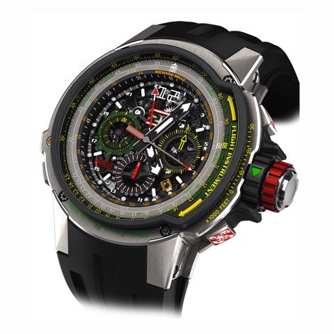 Richard Mille Men Watch RM 39-01 Automatic Winding Flyback Chronograph Aviation