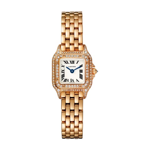 Cartier Panthère de Cartier Mini Pink Gold Diamonds