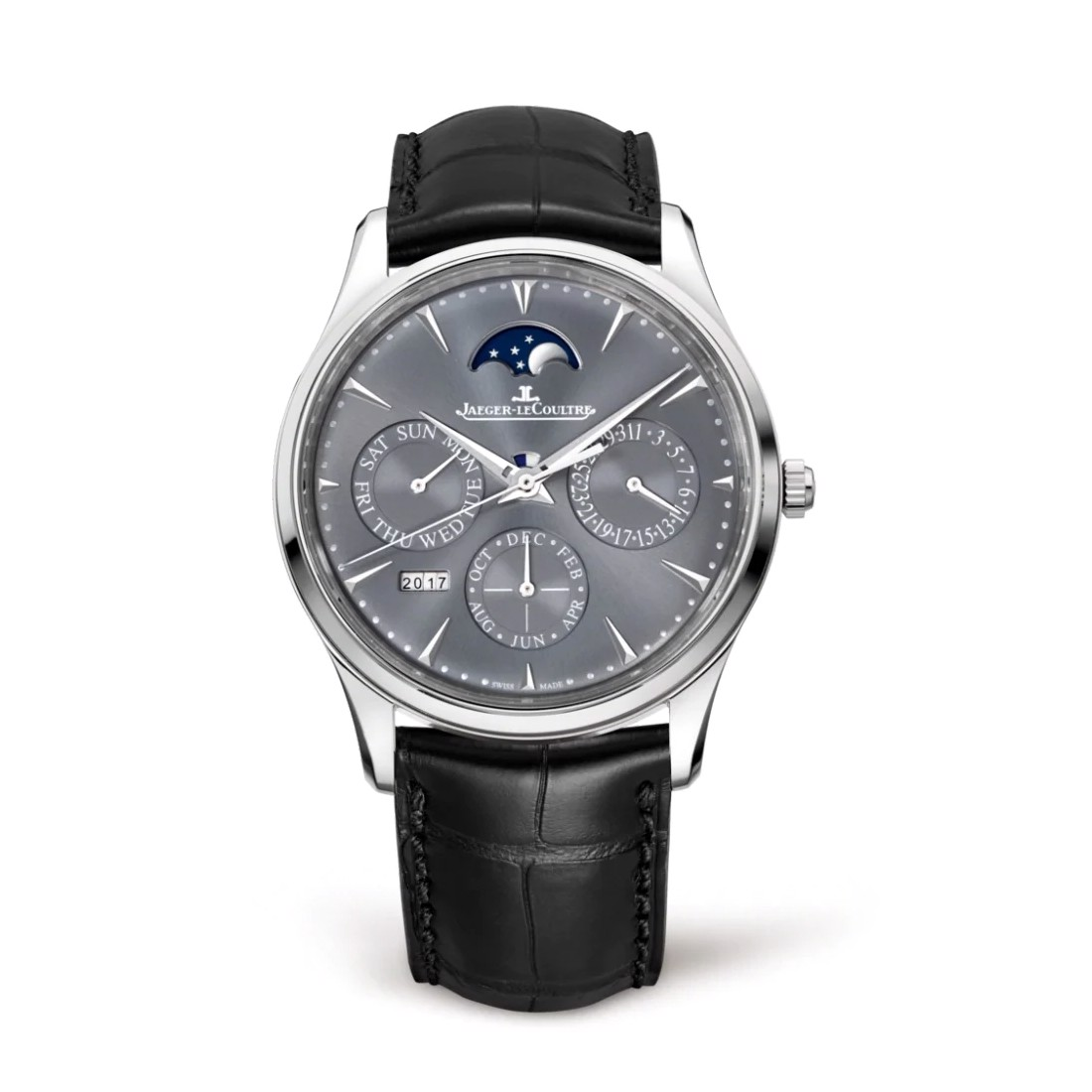 Jaeger Le Coultre Master Ultra Thin Perpetual 130354J