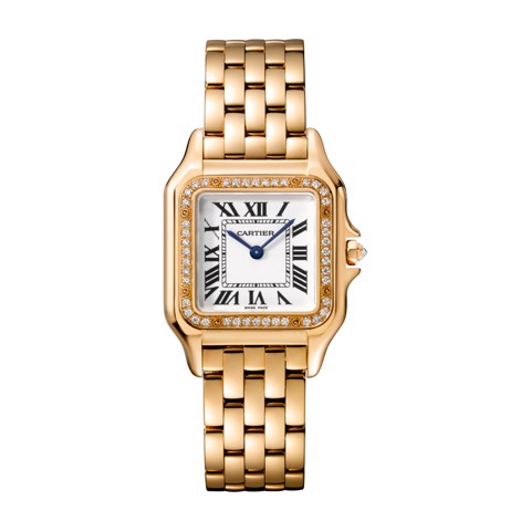 Cartier Panthère de Cartier Medium Model Pink Gold Diamonds