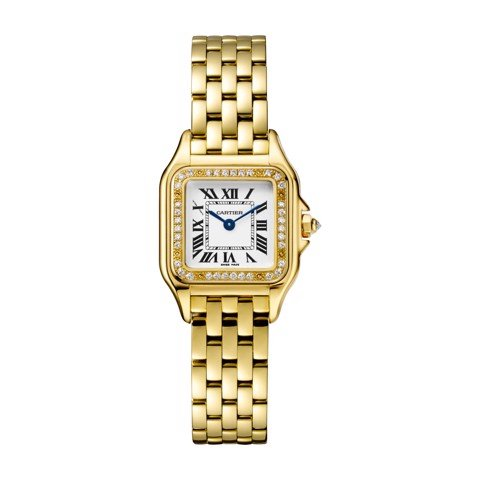 Cartier Panthère de Cartier Small Model Yellow Gold Diamonds