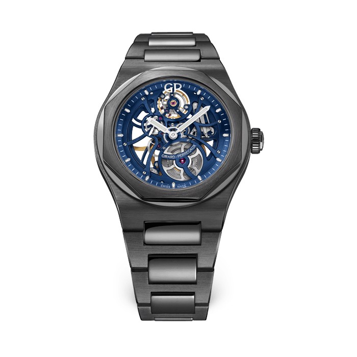 Girard Perregaux Laureato Skeleton Earth To Sky Edition 81015-32-432-32A