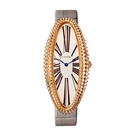 Cartier Baignoire Allongée XL Pink Gold Leather