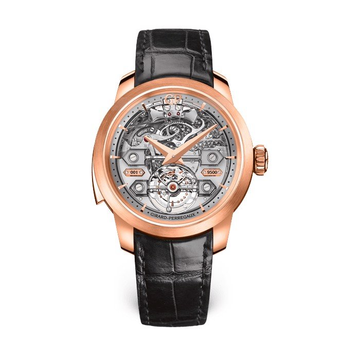 Girard Perregaux Bridges Minute Repeater Tourbillon Bridges 99820-52-001-BA6A