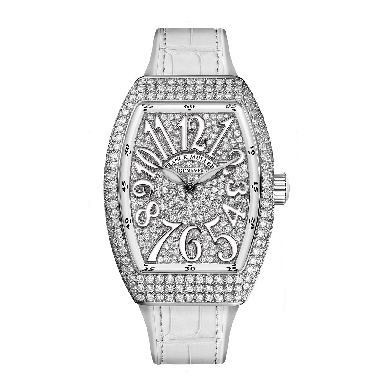 Franck Muller Vanguard Lady V 35 QZ D CD AC