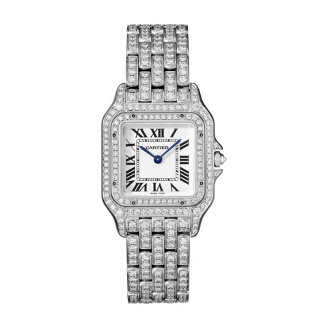 Cartier Panthère de Cartier Medium Model White Gold Diamonds