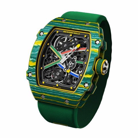Richard Mille Men Watch RM 67-02 AUTOMATIC WAYDE VAN NIEKERK