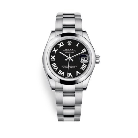 Rolex Datejust 31mm Stainless Steel and Black Dial 178240-0034