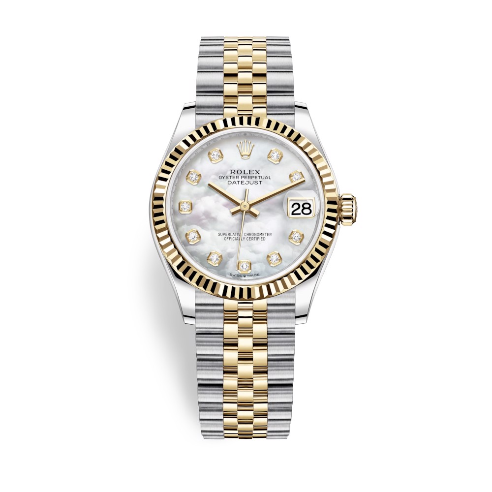 Rolex Datejust 31mm Stainless Steel and Yellow Gold MOP Dial 278273-0028