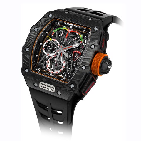 Richard Mille RM 50-03 Manual Winding Tourbillon Split-Seconds Chronograph McLaren F1