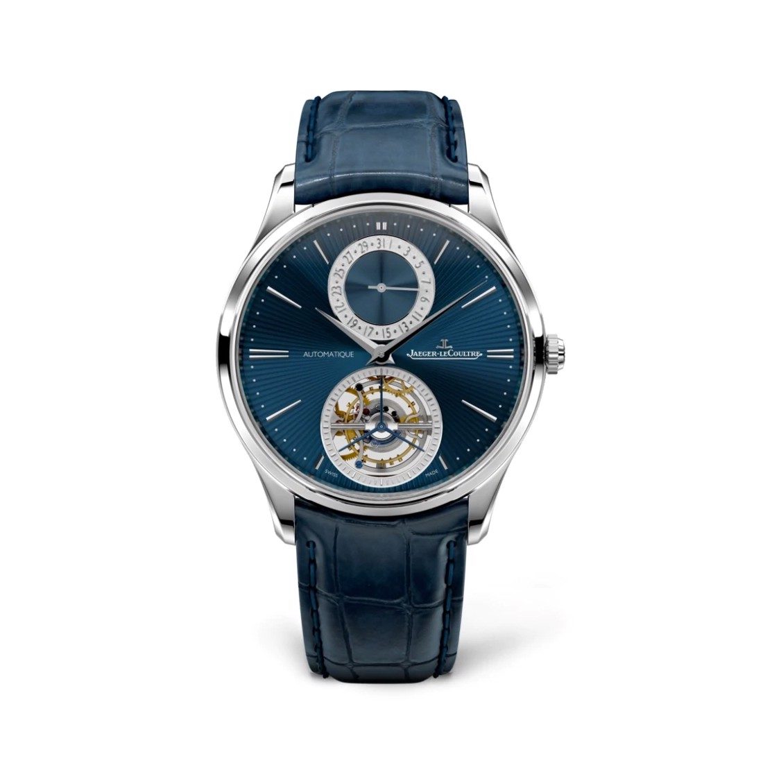 Jaeger Le Coultre Master Ultra Thin Tourbillon Enamel 13234E1