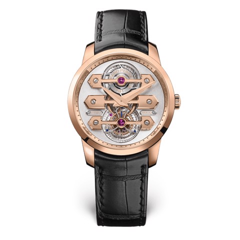Girard Perregaux Bridges Tourbillon Three Gold Bridges 40mm 99285-52-000-BA6A