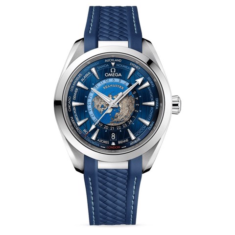 Omega Seamaster Aqua Terra Worldtimer Collection 220.12.43.22.03.001