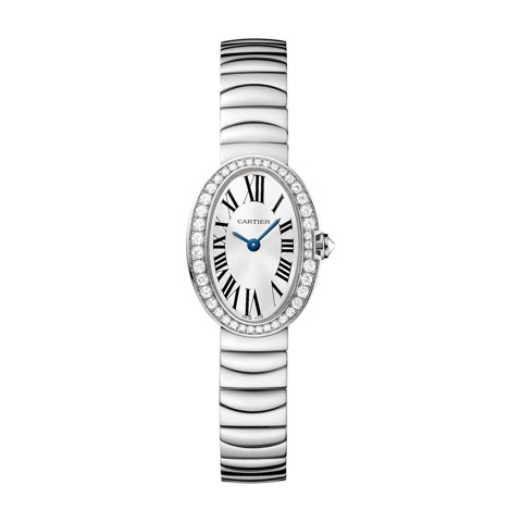 Cartier Baignoire Mini White Gold Diamonds
