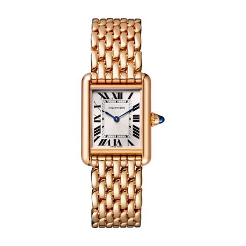 Cartier Tank Louis Cartier Small Model Pink Gold