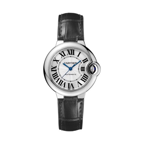Cartier Ballon Bleu de Cartier 33mm Steel Leather