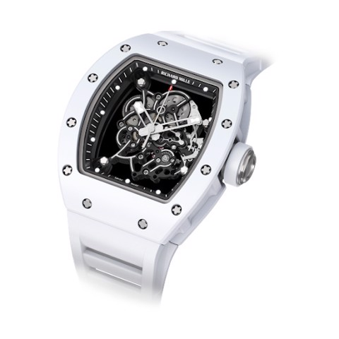 Richard Mille Men Watch RM 055 Manual Winding Bubba Watson