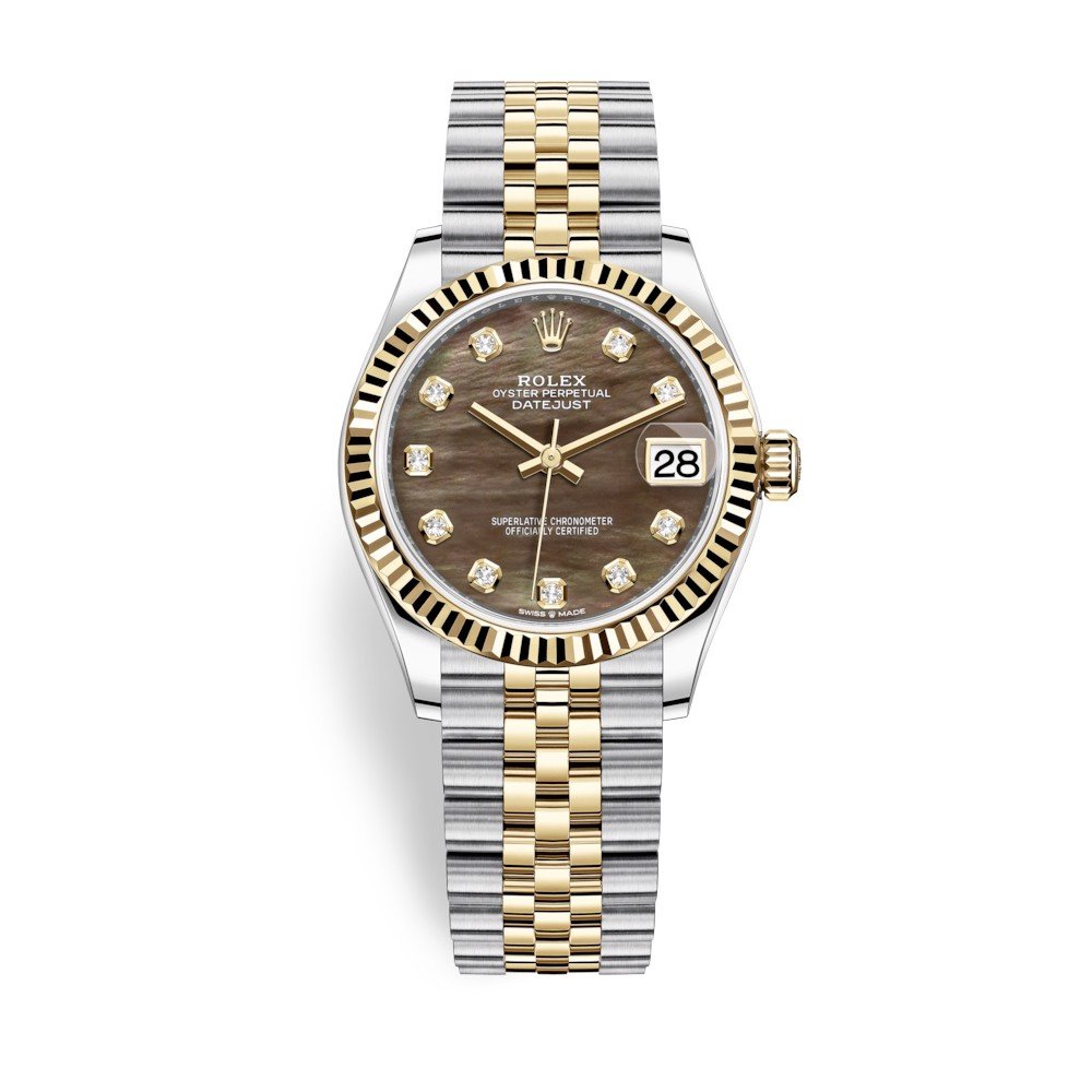 Rolex Datejust 31mm Stainless Steel and Yellow Gold MOP Dial 278273-0024