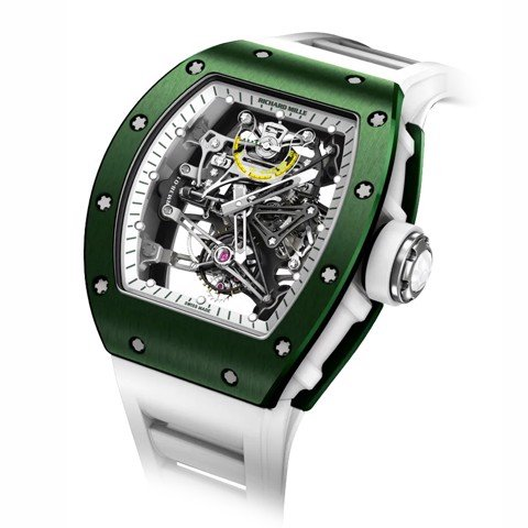 Richard Mille Men Watch RM 38-01 Manual Winding Tourbillon G-sensor Bubba Watson