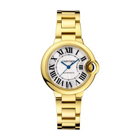 Cartier Ballon Bleu de Cartier 33mm Yellow Gold