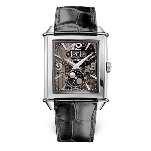 Girard Perregaux Vintage 1945 XXL Large Date and Moon Phases 25882-11-223-BB6B