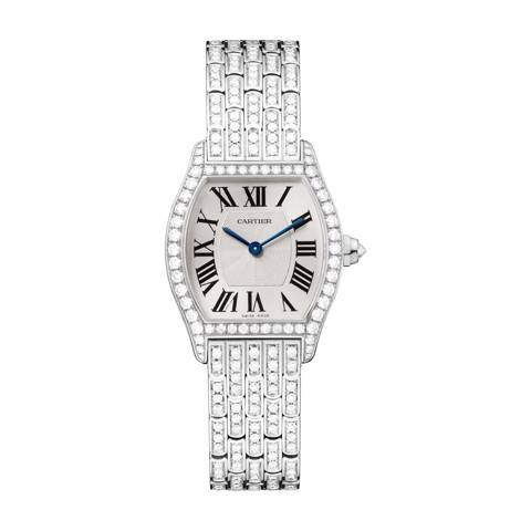Cartier Tortue Small White Gold Diamonds