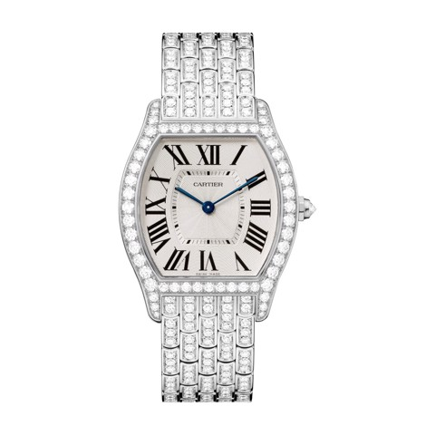 Cartier Tortue Medium White Gold Diamonds