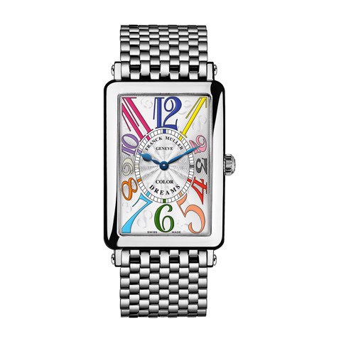 Franck Muller Long Island Color Dreams 1002 QZ COL DRM AC O