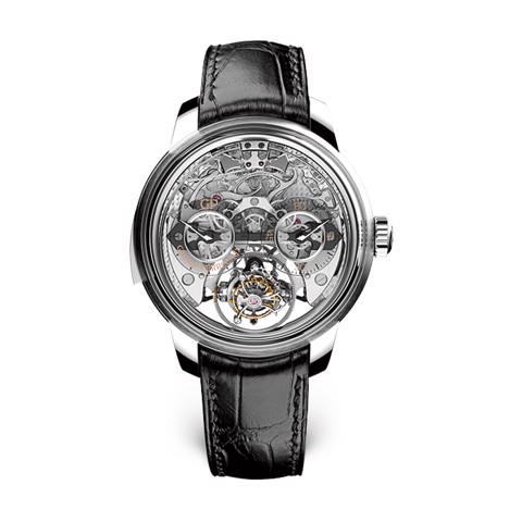 Girard Perregaux Bridges Minute Repeater Tri-axial Tourbillon 99830-21-000-BA6A