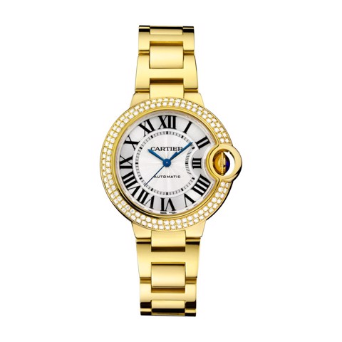 Cartier Ballon Bleu de Cartier 33mm Yellow Gold Diamonds