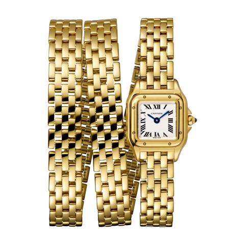 Cartier Panthère de Cartier Mini Triple Loop Yellow Gold