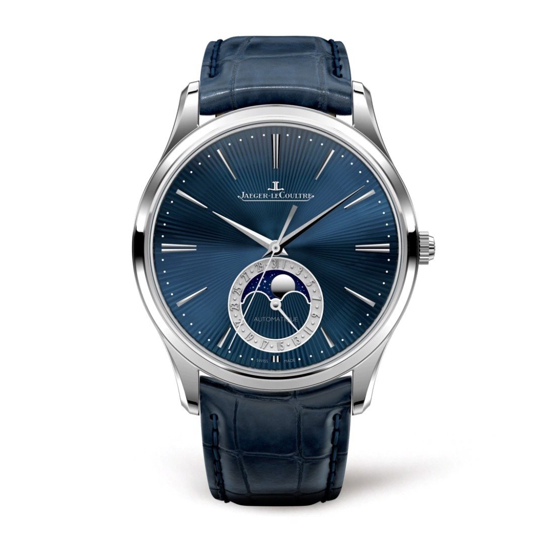 Jaeger Le Coultre Master Ultra Thin Moon Enamel 13635E1