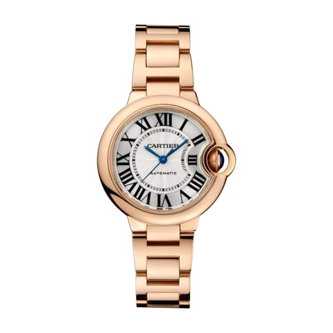 Cartier Ballon Bleu de Cartier 33mm Pink Gold