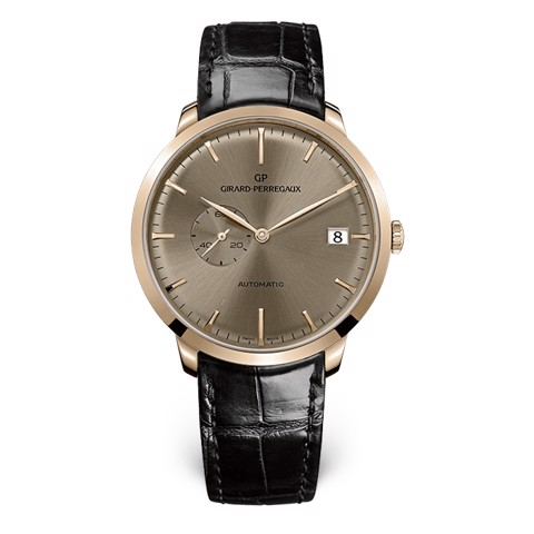 Girard Perregaux 1966 Date and Small Seconds 49543-52-B31-BK6A