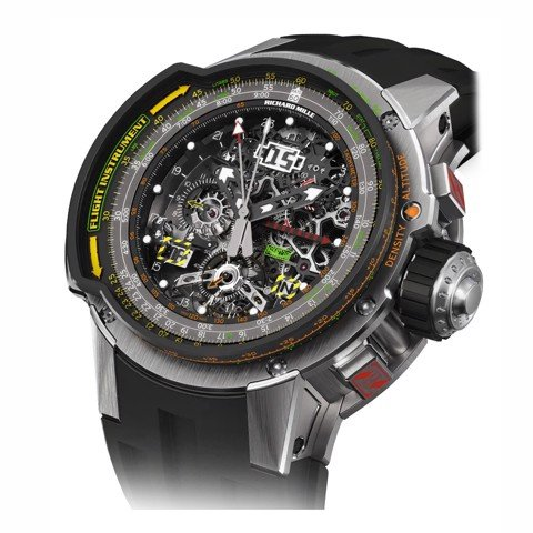 Richard Mille RM 039 Manual Winding Tourbillon Chronograph Aviation