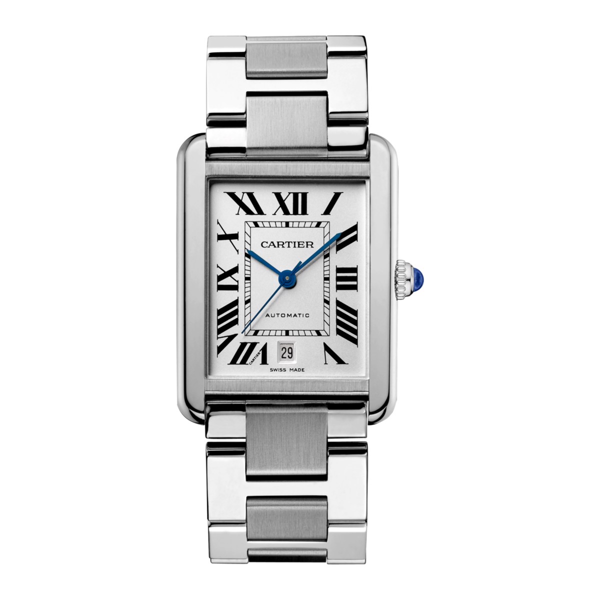 Cartier Tank Solo XL Model Steel