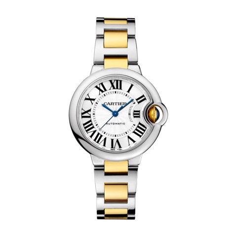 Cartier Ballon Bleu de Cartier 33mm Yellow Gold Steel