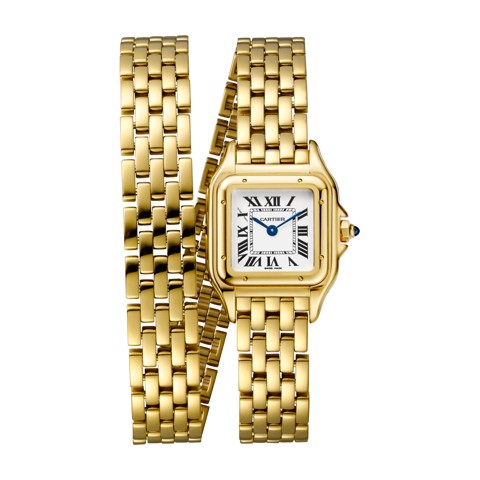 Cartier Panthère de Cartier Small Model Double Loop Yellow Gold