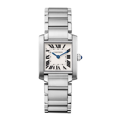Cartier Tank Francaise Medium Model Steel