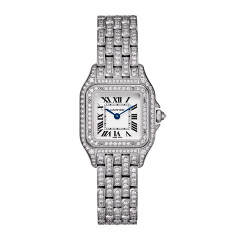 Cartier Panthère de Cartier Small Model White Gold Diamonds