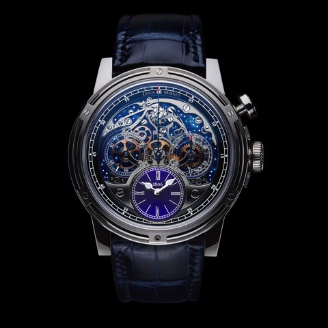 Đồng hồ nam Louis Moinet Memoris 200th Anniversary White Gold 46mm