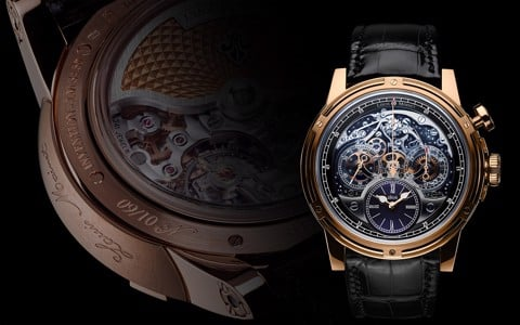 Đồng hồ nam Louis Moinet Memoris 200th Anniversary Rose Gold 46mm
