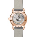 Chopard Happy Sport Automatic Rose Gold Gray Fabric Strap 36mm