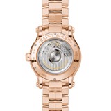 Chopard Happy Sport Automatic Diamond Rose Gold Bracelet Grey Dial 36mm