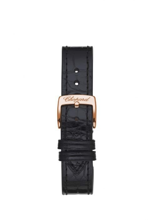 Chopard Happy Sport Automatic Rose Gold Leather Strap 30mm