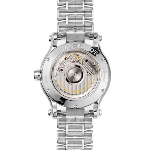 Chopard Happy Sport Automatic Diamond Steel Bracelet 36mm