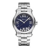 Chopard Happy Sport Automatic Steel Bracelet Blue Dial 36mm