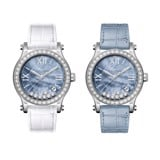 Chopard Happy Sport Automatic Diamond Steel Bracelet Blue MOP Dial 36mm