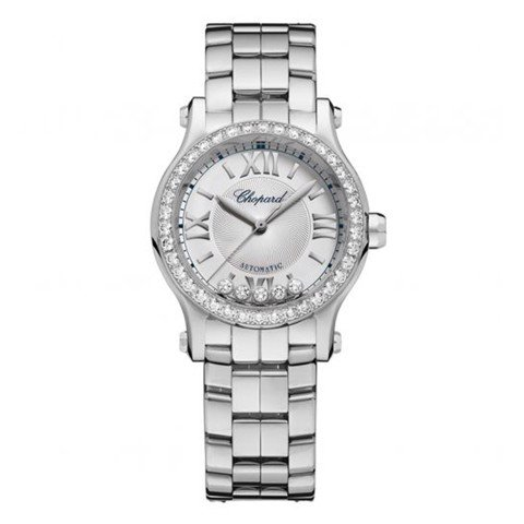 Chopard Happy Sport Automatic Diamond Steel Bracelet 30mm