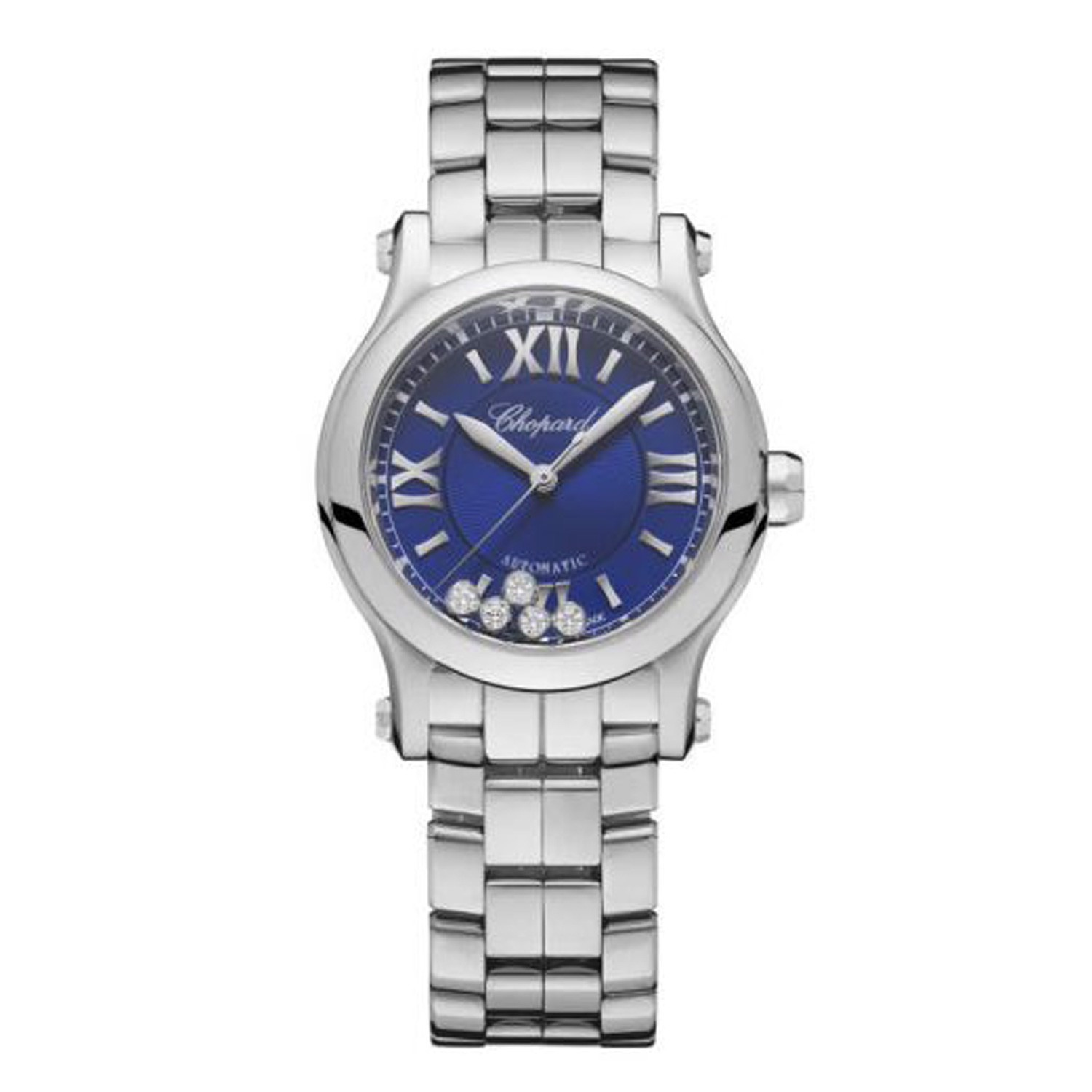 Chopard Happy Sport Automatic Blue dial Steel Bracelet 30mm